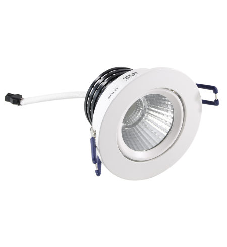 Round white Spotlight 5W downlight (porthole)