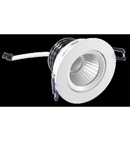 Foco Downlight redondo 5W blanco (ojo de buey)