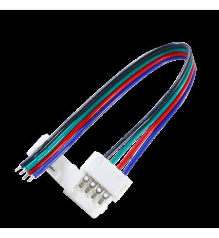 Cable conector rápido RGB 4p