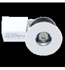 White round Spotlight Downlight 1W (porthole)
