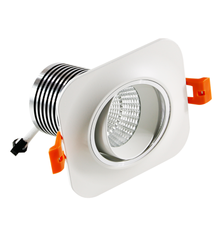 Square Spotlight 10W downlight (porthole)