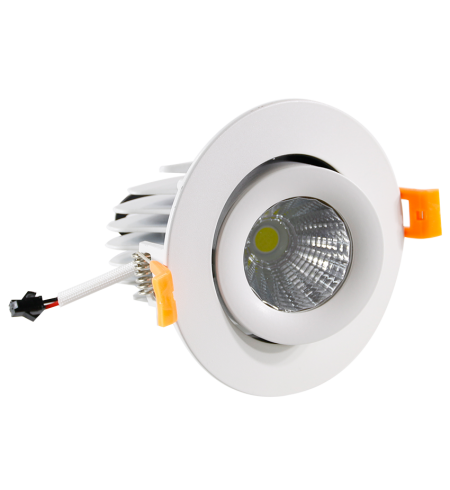 Foco Downlight dirigible 10W (ojo de buey)