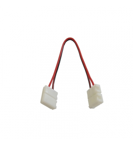 Cable 2p double quick connector 12V (single color)