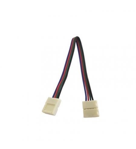 Cable 4p conector rápido doble 12V (RGB)