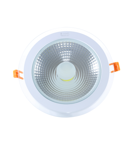 Panel Downlight de cristal 12W redondo (COB)