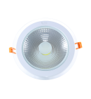 Round 12W Crystal Downlight Panel (COB)