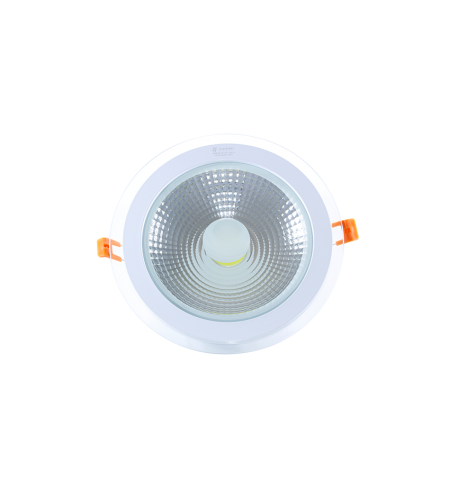 Panel Downlight de cristal 6W redondo (COB)
