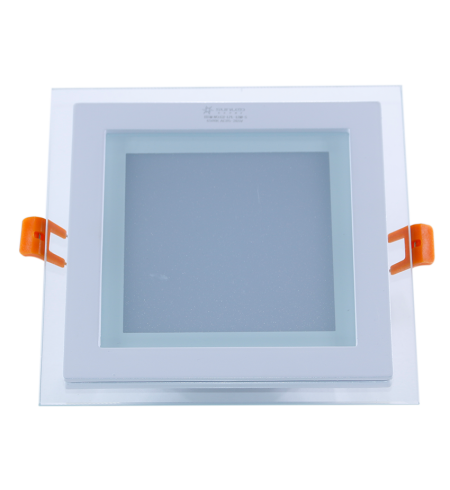 Panel Downlight de cristal 18W cuadrado (SMD)