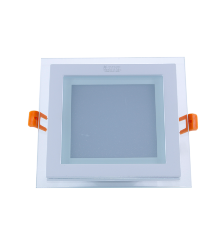 Panel Downlight de cristal 12W cuadrado (SMD)