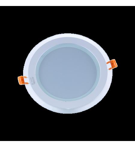 Panel Downlight de cristal 12W redondo (SMD)