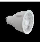 GU10 7W bulb (Aluminum)