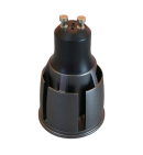 Lámpara GU10 7W (Aluminio)