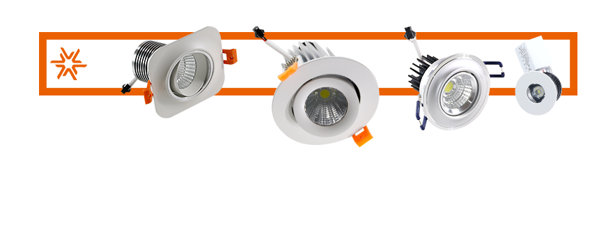 Downlight LED spotlight