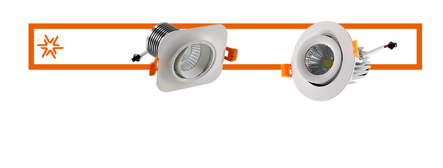 LED lighting Multi angle