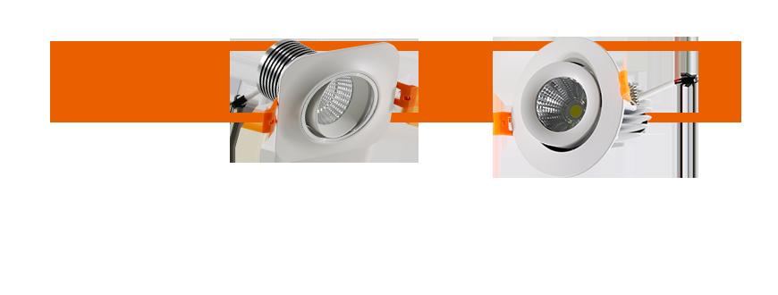 LED lighting Multi angle