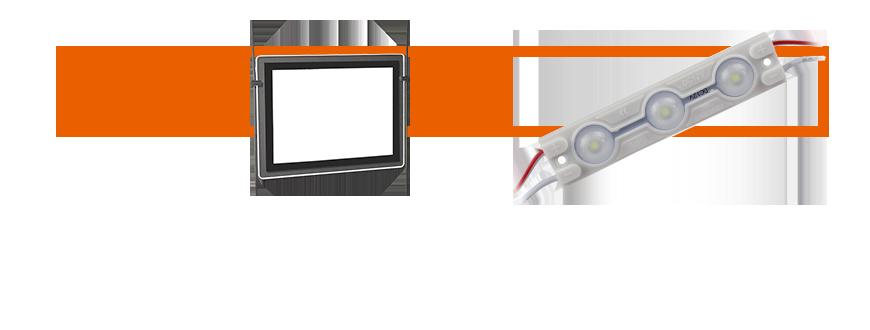 LED para cartelería
