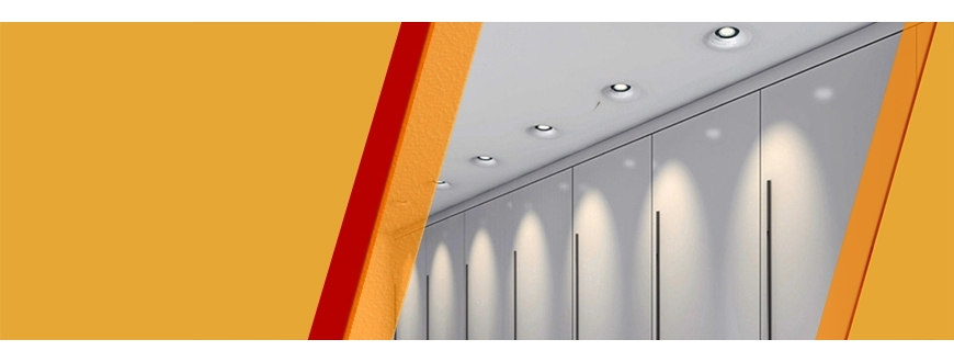 LED lighting for corridors