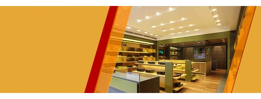 LED Lighting for Shops